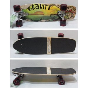 GRAVITY 15周年記念SALE 25%off/GRAVITY SKATEBOARD,グラビティースケートボード/2012年NEWモデル・3搭載/G-MiniCruiser27TH3/mini classic27