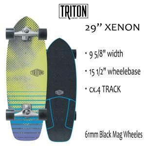 "TRITON SKATEBOARD,トライトンスケートボード/29"" XENON/CX.4 TRACK/サーフスケート/by carver/カーバースケートボード/コンプリート/日本正規代理店品|selfishsurf"