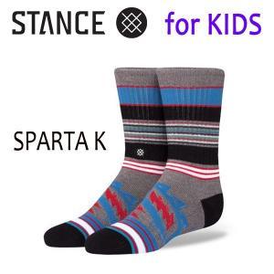STANCE・スタンス/子供用靴下・キッズソックス/17FA/THE CLASSIC LIGHT・SPARTA K/GRY・グレー/19.5-23cm|selfishsurf
