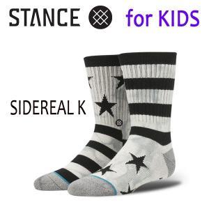 STANCE・スタンス/子供用靴下・キッズソックス/17FA/THE CLASSIC LIGHT・SIDEREAL K/GRY・グレー/19.5-23cm|selfishsurf