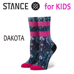 STANCE・スタンス/子供用靴下・キッズソックス/17FA/THE CLASSIC LIGHT・DAKOTA/MUL・マルチカラー/19.5-23cm/POLY BLEND|selfishsurf