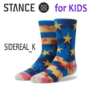STANCE・スタンス/子供用靴下・キッズソックス/17FA/THE CLASSIC LIGHT・SIDEREAL K/BLK・ブラック/19.5-23cm selfishsurf