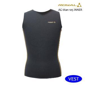 MAGIC,マジック/インナー/1mmROYAL AG titan INNER VEST・ベスト/サーフィン/冬用/ウェットスーツインナー/起毛/高保温/寒冷地用/S・M・L・XL|selfishsurf