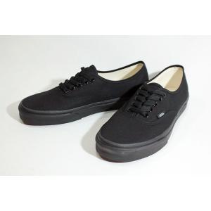 Vansバンズ/USモデル/定番モデル/定番カラー/Authentic,オーセンティック/BLACK/BLACK/オールブラック/スニーカー/メンズ/キャンバス|selfishsurf