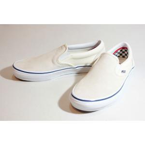 Vansバンズ/21SP/SKATE SLIP-ON・スケートスリッポン/OFF WHITE・オフホワイト/スエード/メンズ/スケート/スニーカー/スケートクラシックライン|selfishsurf