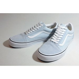 Vansバンズ/20FA・LIFESTYLE/OLD SKOOL,オールドスクール/BALLAD BLUE/TRUE WHITE・ライトブルー/スエード/キャンバス/スケート/スニーカー/メンズ|selfishsurf