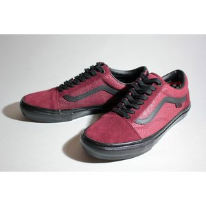 Vansバンズ/21SU/SKATE OLD SKOOL・スケート オールドスクール/(BREANA GEERING)PORT/BLACK/バーガンディー/スケートシューズ/メンズ/スエード|selfishsurf