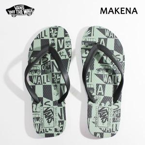Vans バンズ/ビーチサンダル/SURF COLLECTION/MAKENA Sandal/(YUSUKE HANAI)OIL GREEN/BLACK/26・27・28cm/メンズ/花井祐介|selfishsurf