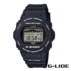 CASIO,カシオ/G-SHOCK,ジーショック/タフソーラー・タイド付き・G-LIDEシリーズ/GWX-5700CS-1JF/ブラック/腕時計/サーフウォッチ|selfishsurf