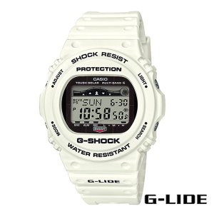 CASIO,カシオ/G-SHOCK,ジーショック/タフソーラー・タイド付き・G-LIDEシリーズ/GWX-5700CS-7JF/ホワイト/腕時計/サーフウォッチ|selfishsurf