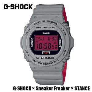 CASIO,カシオ/G-SHOCK,ジーショック/G-SHOCK×Sneaker Freaker×STANCEコラボレーションモデル/DW-5700SF-1JR|selfishsurf
