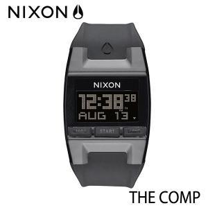 NIXON,ニクソン/時計,サーフウォッチ/THE COMP,コンプ/NA408000-00/BLACK・ブラック selfishsurf