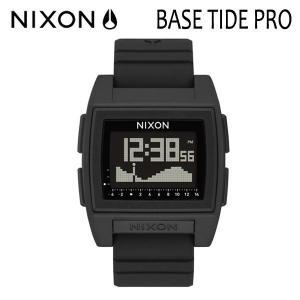 NIXON,ニクソン/時計,サーフウォッチ,TIDE付き/18SP/THE BASE TIDE PRO,ベースタイドプロ/NA1212000-00/BLACK・ブラック/日本正規代理店品 selfishsurf
