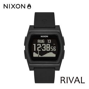NIXON,ニクソン/時計,サーフウォッチ,TIDE付き/18FA/THE RIVAL,ライバル/NA1236001-00/ALL BLACK・ブラック/日本正規代理店品 selfishsurf