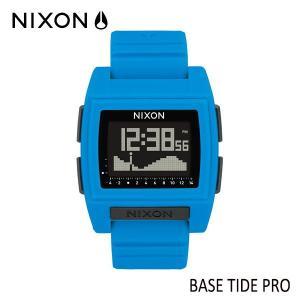 NIXON,ニクソン/時計,サーフウォッチ,TIDE付き/19SP/THE BASE TIDE PRO,ベースタイドプロ/NA1212300-00/BLUE・ブルー/日本正規代理店品/サーフィン|selfishsurf