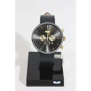 時計,ウォッチ/Vestal,ベスタル/ROSEVELT CHRONO/RSTCL02/BLACK/GUN/GOLD/レザーベルト|selfishsurf