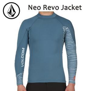 VOLCOM,ボルコム/17SP/ L/S JACKET・長袖タッパー/Neo Revo Jacket・N1611702/SMOKEY BLUE・スモーキーブルー/S・M・Lサイズ/サーフィン/マリンスポーツ|selfishsurf