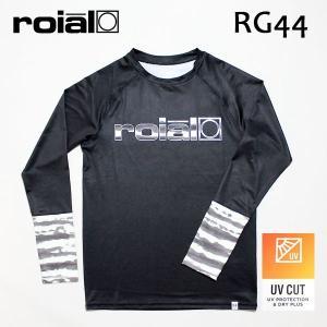 ROIAL・ロイアル/18SPSU/長袖ラッシュガード/DAN・RG44/BLACK×BLACK BORDER・ブラック×ブラックボーダー/Mサイズ|selfishsurf
