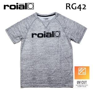 ROIAL・ロイアル/18SPSU/半袖ラッシュガード/CHIP・RG42/HEATHER GRAY・ヘザーグレー/Mサイズ/メンズ|selfishsurf