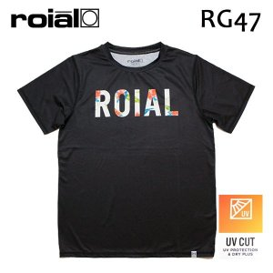 ROIAL・ロイアル/18SU/半袖ラッシュガード・水陸両用/OWEN・RG47/BLACK・ブラック/Mサイズ/メンズ|selfishsurf