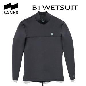 BANKS,バンクス/2016年SPRING/長袖タッパー/B1 WETSUIT・WRU0001/BLACK・ブラック/メンズM・Lサイズ|selfishsurf