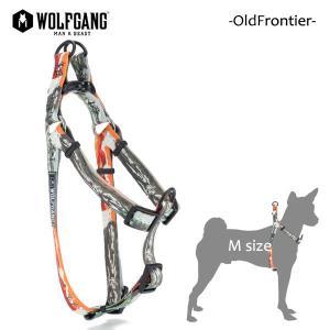 WOLFGANG MAN&BEAST・ウルフギャング/犬用/ハーネス/OldFrontier HARNESS/Mサイズ/中型犬/Travis Bone/AMERICAN MADE/21|selfishsurf