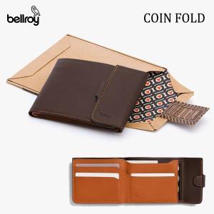 BELLROY,ベルロイ/財布,3つ折りタイプ小銭入れつきスリムウォレット/COIN FOLD WALLET/WCFB/JAVA・ダークブラウン|selfishsurf