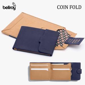BELLROY,ベルロイ/財布,3つ折りタイプ小銭入れつきスリムウォレット/COIN FOLD WA...