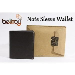 BELLROY,ベルロイ/財布,2つ折りタイプスリムウォレット/Note Sleeve Wallet/WNSC/JAVA・ダークブラウン|selfishsurf