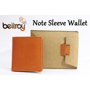 BELLROY,ベルロイ/財布,2つ折りタイプスリムウォレット/Note Sleeve Wallet/WNSC/BURNT ORANGE・オレンジ|selfishsurf