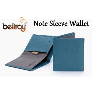 BELLROY,ベルロイ/財布,2つ折りタイプスリムウォレット/Note Sleeve Wallet/WNSC/ARCTIC BLUE・ライトブルー|selfishsurf