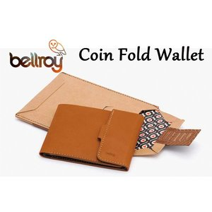 BELLROY,ベルロイ/財布,3つ折りタイプ小銭入れつきスリムウォレット/COIN FOLD WALLET/WCFB/CARAMEL・キャラメル|selfishsurf
