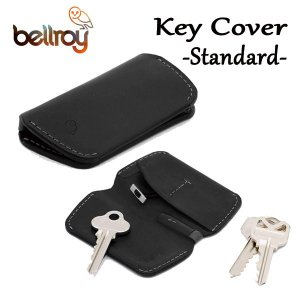 BELLROY,ベルロイ/キーカバー,キーケース/KEY COVER/スタンダードサイズ/鍵2〜4本/EKCA/BLACK・ブラック/レザー|selfishsurf