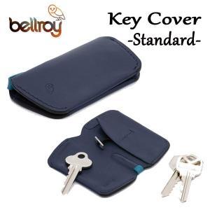 BELLROY,ベルロイ/キーカバー,キーケース/KEY COVER/スタンダードサイズ/鍵2〜4本/EKCA/BLUESTEEL・ブルー/レザー|selfishsurf