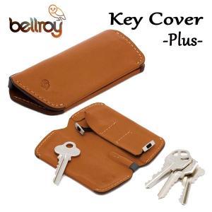 BELLROY,ベルロイ/キーカバー,キーケース/KEY COVER PLUS/鍵4〜8本/EKCB/CARAMEL・キャラメル/レザー|selfishsurf