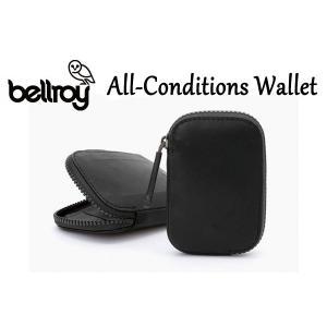 BELLROY,ベルロイ/財布,ラウンドウォレット/ALL CONDITIONS WALLET/WAWA/BLACK・ブラック/耐水性/オール コンディション レザー|selfishsurf