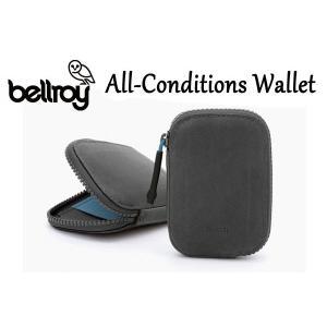 BELLROY,ベルロイ/財布,ラウンドウォレット/ALL CONDITIONS WALLET/WAWA/CHARCOAL・チャコール/耐水性/オール コンディション レザー|selfishsurf