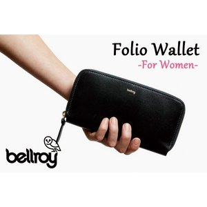 BELLROY,ベルロイ/長財布,ロングスリーブウォレット/Folio Wallet・FFWA/BLACK・ブラック/レディース|selfishsurf