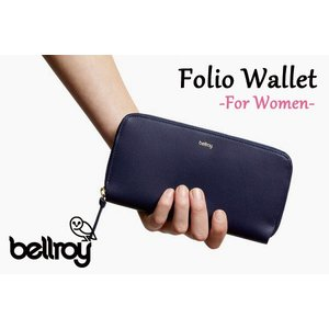 BELLROY,ベルロイ/長財布,ロングスリーブウォレット/Folio Wallet・FFWA/NAVY・ネイビー/レディース|selfishsurf