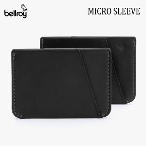 BELLROY,ベルロイ/カードケース,スマートウォレット/Micro Sleeve/WMSB/BLACK・ブラック/クレジットカードケース/財布/ミニマリスト/レザー/日本正規代理店品 selfishsurf