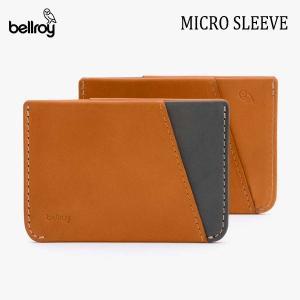 BELLROY,ベルロイ/カードケース,スマートウォレット/Micro Sleeve/WMSB/CARAMEL・キャラメル/クレジットカードケース/財布/ミニマリスト/日本正規代理店品 selfishsurf