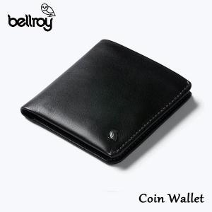BELLROY,ベルロイ/財布,2つ折りタイプスリムウォレット/Coin Wallet/WCWA/BLACK・ブラック/レザー/RFID Protection/コインポケット selfishsurf