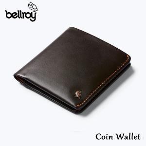 BELLROY,ベルロイ/財布,2つ折りタイプスリムウォレット/Coin Wallet/WCWA/JAVA・ブラウン/レザー/RFID Protection/コインポケット selfishsurf
