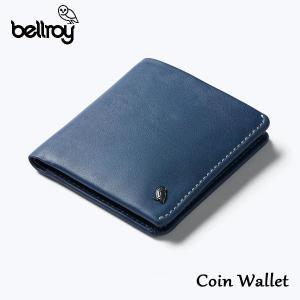 BELLROY,ベルロイ/財布,2つ折りタイプスリムウォレット/Coin Wallet/WCWA/Marine Blue・マリンブルー/レザー/RFID Protection/コインポケット selfishsurf