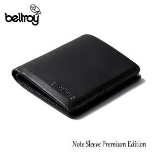BELLROY,ベルロイ/財布,2つ折りタイプスリムウォレット/Note Sleeve Premium Edition/ノートスリーブプレミアムエディション/WNSD/ブラック/RFID対応/レザー selfishsurf
