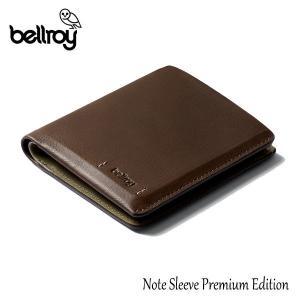 BELLROY,ベルロイ/財布,2つ折りタイプスリムウォレット/Note Sleeve Premium Edition/ノートスリーブプレミアムエディション/WNSD/ダークウッド/RFID対応/レザー selfishsurf