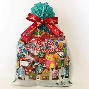クリスマス お菓子 通販 クリスマス巾着L