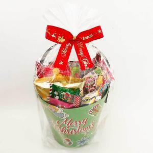 クリスマスお菓子詰め合わせ毎年早い時期に完売する人気の商品です。紙製バケツにたっぷりお菓子詰め合せ1...