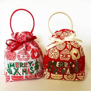 クリスマス お菓子詰め合わせ オリジナルお菓子 子ども ギフト クリスマスリボンバッグ