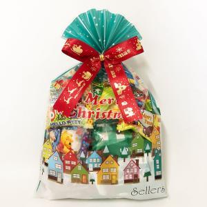 クリスマス お菓子 詰め合せ クリスマス会 子ども 販促 クリスマス巾着Mギフト プレゼント 通販